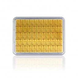 Goldbarren 50x1g Combibar...