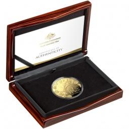 5 OZ Gold Lunar Ratte PP 1....