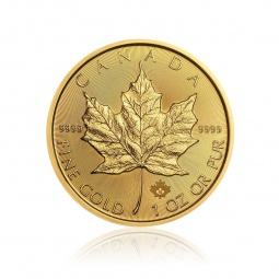 1 Unze Gold Maple Leaf 2020