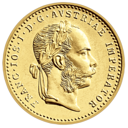 1 Dukate Goldmünze banküblich