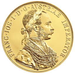 4 Dukaten Goldmünze banküblich