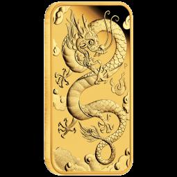 1 OZ Gold Drache 2019...