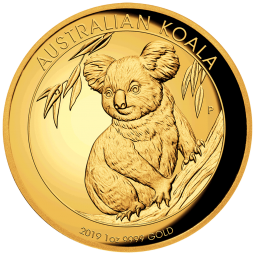 Koala 1OZ Gold 2019 High...