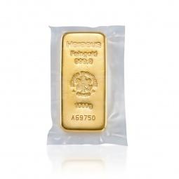 1 KG Goldbarren Heraeus