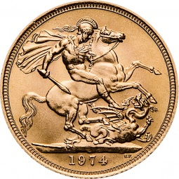 Sovereign 1 Pfund Gold...