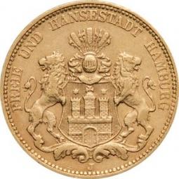 Reichsgoldmünze 20 Mark...