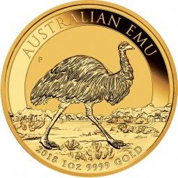 1 Unze Emu Gold 2020