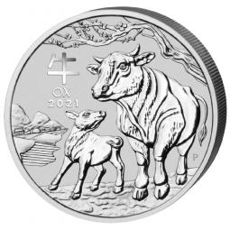 1 Kilo Silber Lunar III...