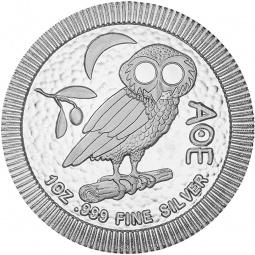 1 Unze Eule Silber 2021