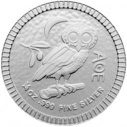 1/4 Unze Eule Silber 2021