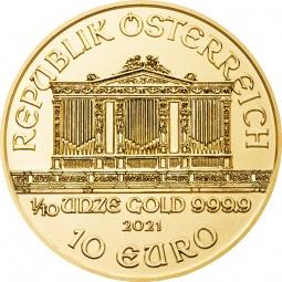 1/10 Unze Gold Wiener...