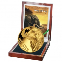 Elefant Big Five Gold 5 OZ...
