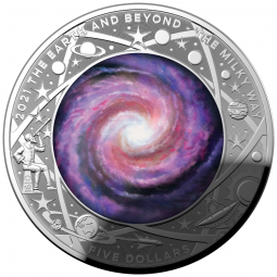 Earth and Beyond - Silber 1...