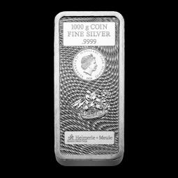 1 kg Silber Cook Island...